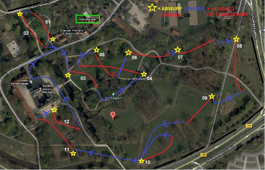1. Schlosspark Open Lageplan