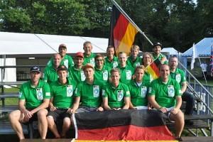 Das deutsche Team 2014 in der Schweiz. Foto: Werner Szybalski