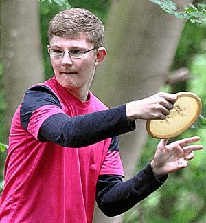 Henrik Streit setzte sich auch in Weilheim bei den Juniors durch.