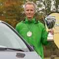 Gesamtsieger Werner Riebesel gewann den Wanderpokal.